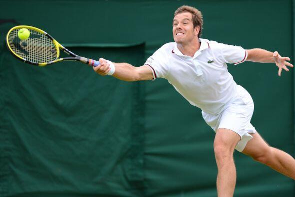 El francés de 26 años se presentaba en su séptimo Wimbledon como cabeza...