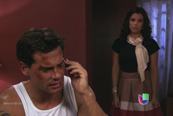 Miriam escucha la conversación. Sabe que Daniel ha mentido. &ique...