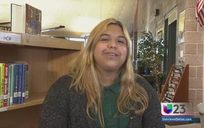Estudiante de la semana: Destiny, una joven que vive por los animales