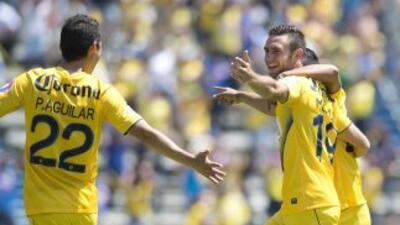 El afortunado gol conseguido por Layún le bastó a los azulcremas.