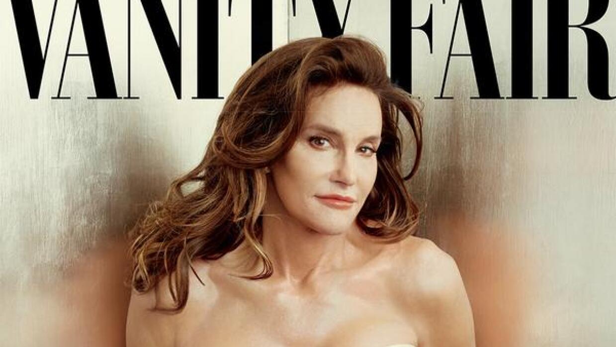 Caitlyn Jenner en la portada de Vanity Fair.