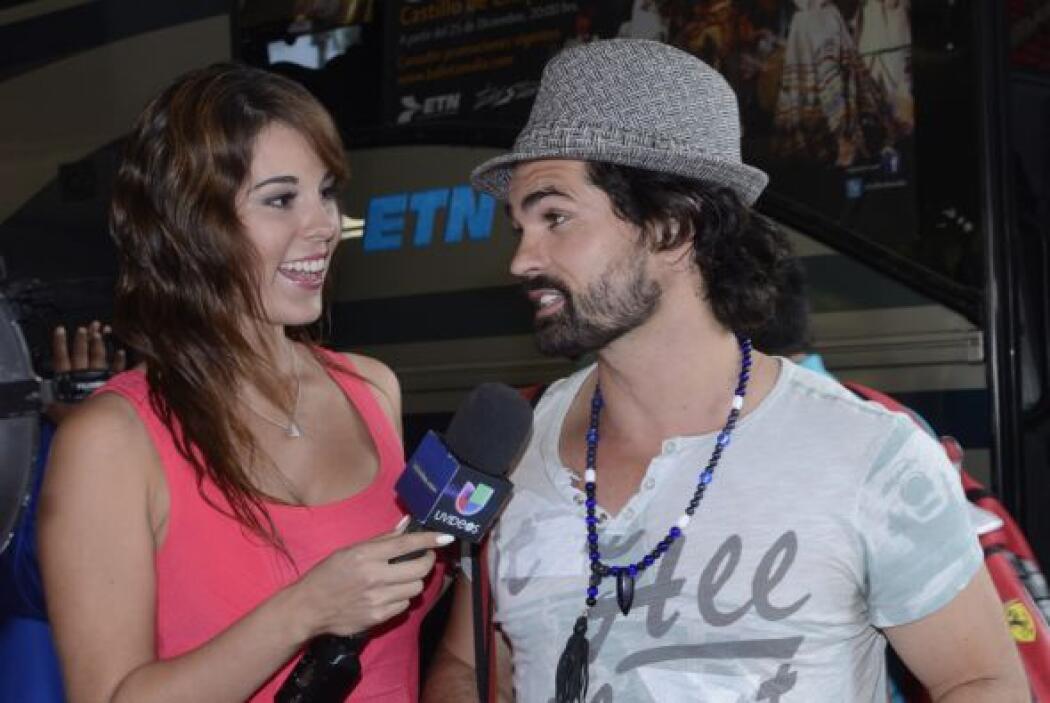 El actor nos confesó que está muy emocionado de poder asistir a la premi...