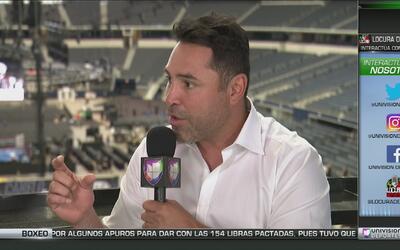 """De la Hoya, sobre 'Canelo' y Smith: """"Ninguno sabe cómo dar un paso hacia..."""