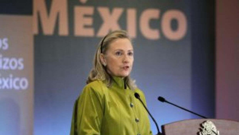 Durante la reunión del G-20 en Los Cabos, Hillary Clinton aplaudió el ac...