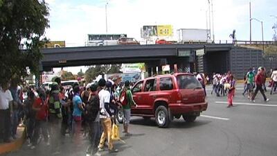 Atropellan a manifestantes en México