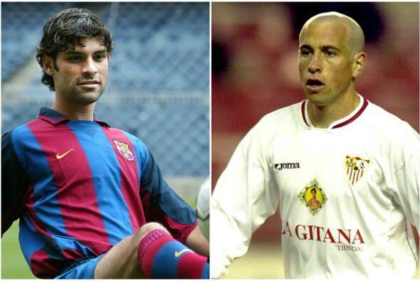 En la campaña 2003-2004 Gerardo Torrado jugaba para el Sevilla qu...