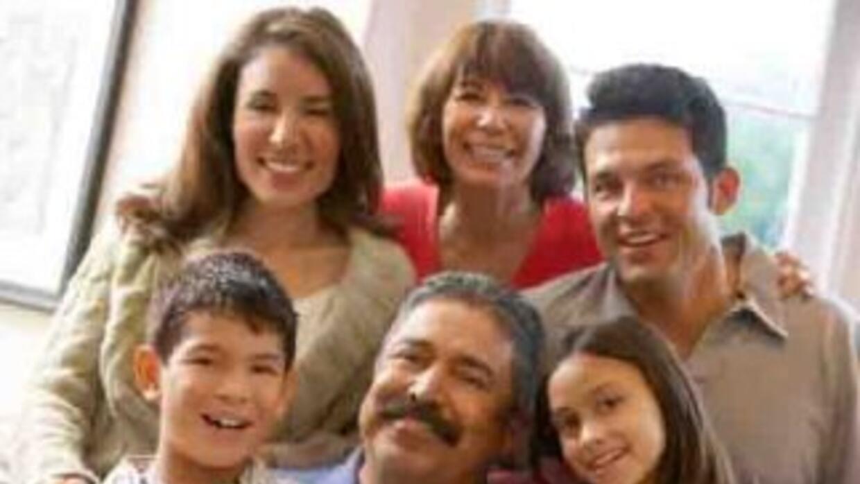Familia hispana.