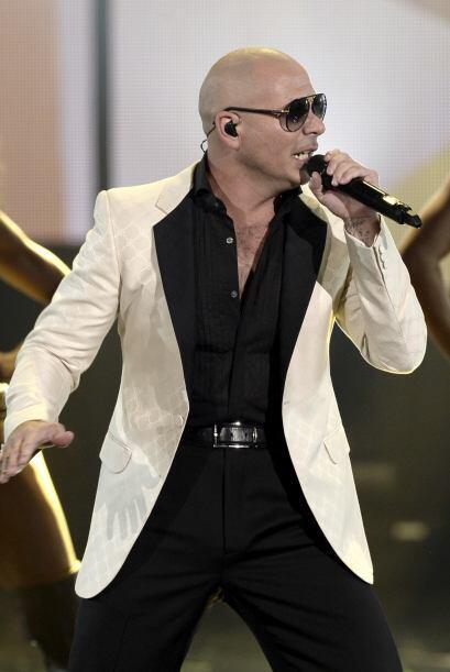 Pitbull Todos los días son para dar gracias, así que yo les agradezco ho...