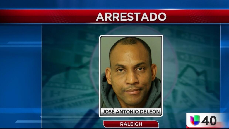 Autoridades de Raleigh arrestan al hombre que robó una caja de donativos...