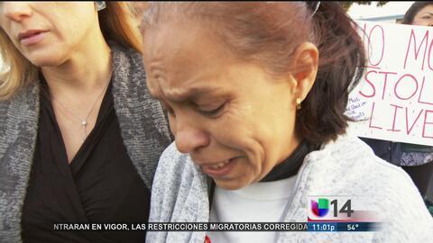Familiares y vecinos piden justicia por la muerte de un joven a manos de...
