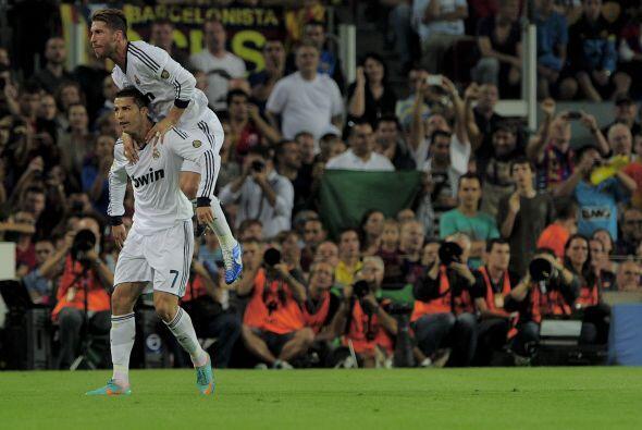El crack portugués marcaba gol en el Camp Nou por quinto juego en fila.