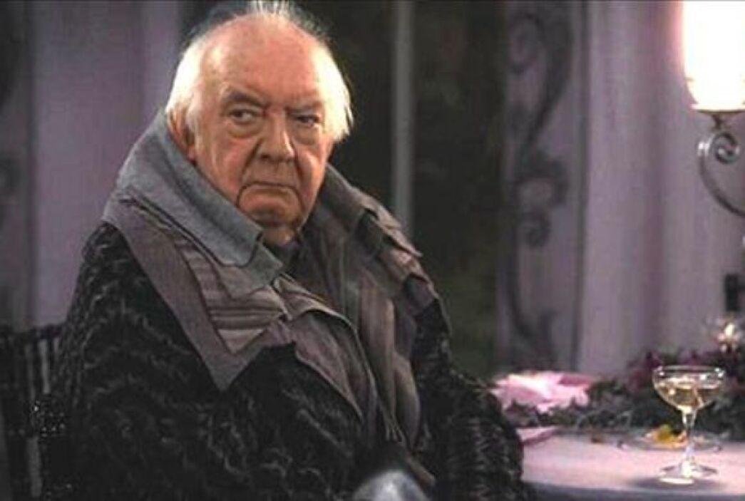 """David dio vida a """"Elphias Doge"""" en  la cinta """"Harry Potter and the Death..."""