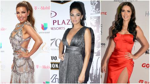 Actrices de telenovela con cinturita.