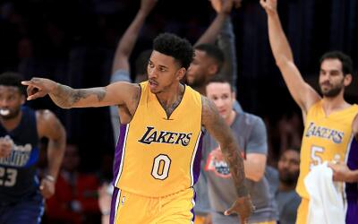 Escolta de los Lakers, Nick Young