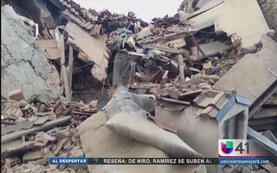 Sismo de 6.2 grados en Italia deja al menos 10 muertos