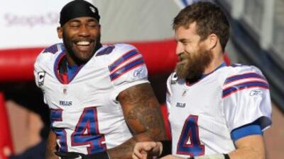 Los Buffalo Bills vieron tornarse sus grandes sonrisas de la primera mit...