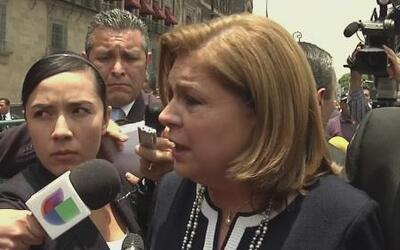 Procuradora general de México responde a declaraciones de Kate del Casti...