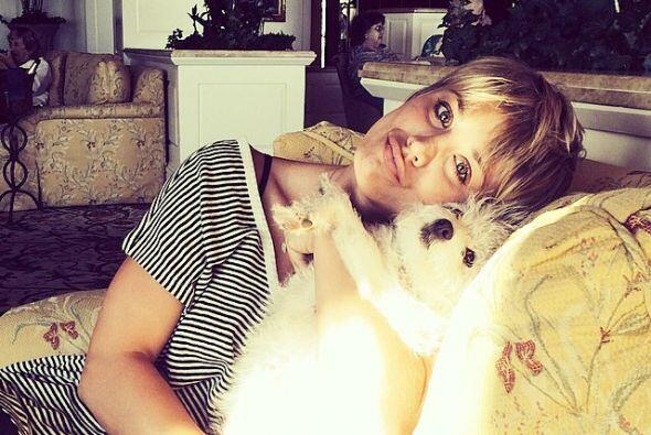 Kaley Cuoco y Ruby   La actriz de ´The Big Bang Theory´está enamorada de...