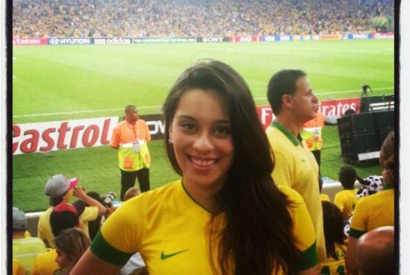 Clarice Alves esposa de Marcelo del Real Madrid.