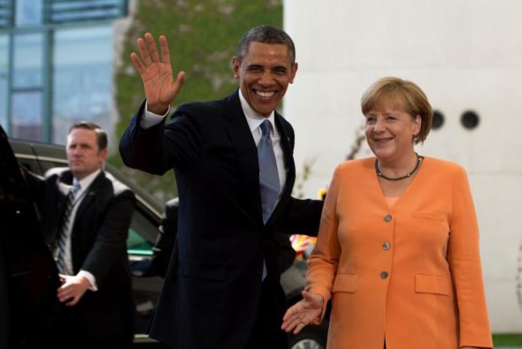 Los principales temas de la agenda bilateral de Obama y Merkel serán la...