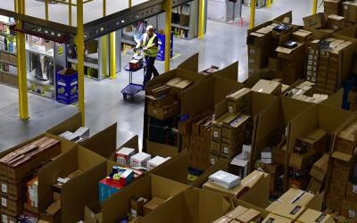 Centro de logística de Amazon