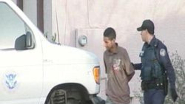 Inmigrante arrestado  en el oeste del valle