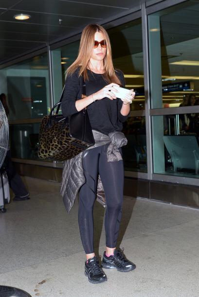 Encontramos a Sofía Vergara llegando al aeropuerto de Miami. M&aa...