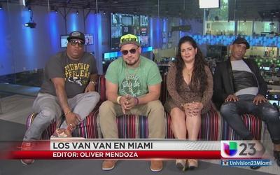 """Los Van Van promocionan """"La Fantasía"""""""