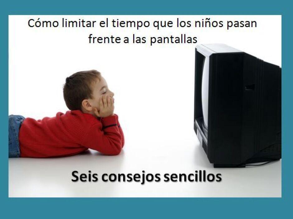 Cuando limitamos el tiempo de pantalla, le damos a nuestros hijos más ti...