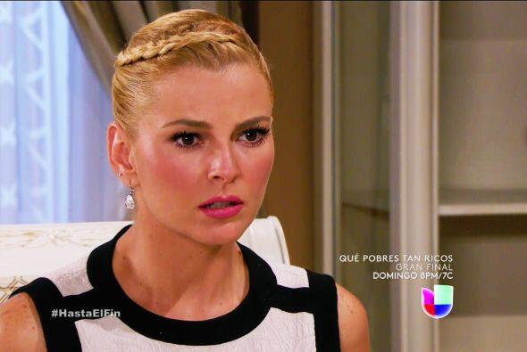 Mira que Sofía buscará hasta el cansancio una explicación de tus enormes...