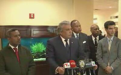 Policía de Nueva York y consulado dominicano realizaron una reunión para...