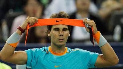 El tenista español le jugó una broma a golfistas.