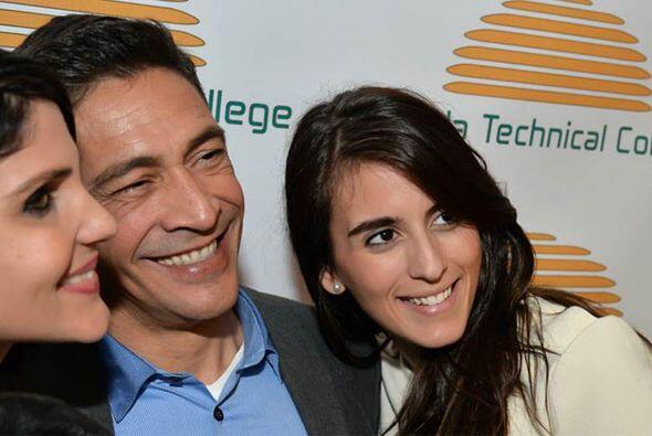 Johnny se tomó un selfie con Gabriela Trucco, hija de su amiga Gi...