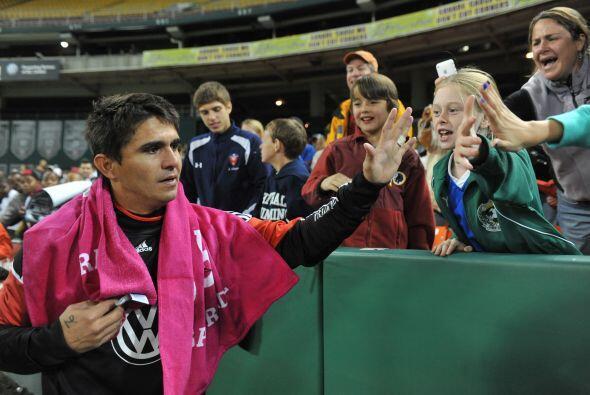 El boliviano Jaime Moreno se retiró del fútbol con el DC United el 23 de...