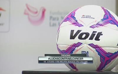La Liga MX luchará contra el cáncer de mama