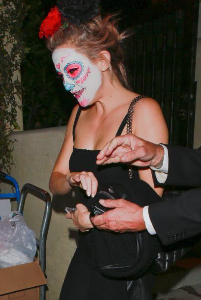 George Clooney no asistió a la gran fiesta pues se encontraba celebrando...
