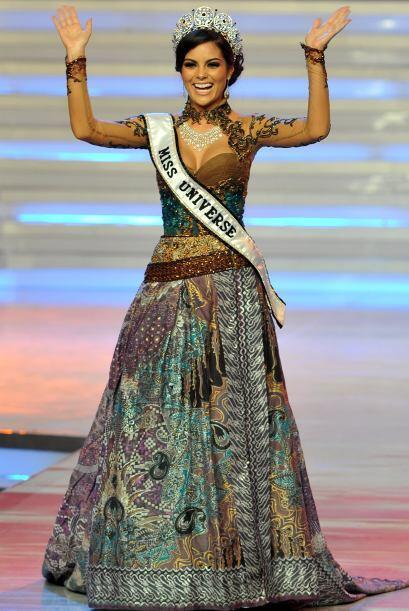 México obtuvo otra corona de Miss Universo en el 2010 con Ximena Navarre...