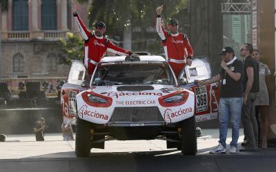 Los argentinos Ariel Jatón y Germán Rolón lideraron...