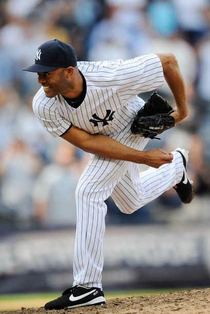 RP. Mariano Rivera. Yankees de Nueva York. En la semana logró tre...
