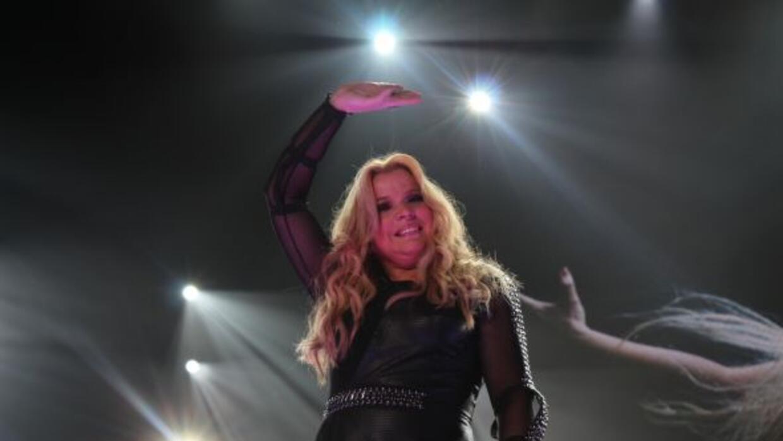 Fotografía tomadas durante el concierto de Ednita Nazario, efectuado el...