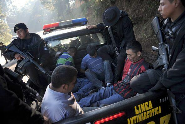 Según el gobierno nacional, los Zetas no están concentrados en una regió...