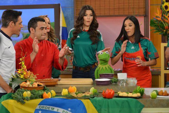 Y celebramos el mundial cocinando platillos típicos de Brasil. ¡Delicioso!