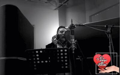 En un tema en versión pop, Edwin Luna fomenta la unidad y el amor...