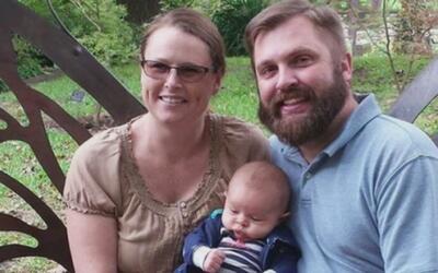 Imputan cargos al hombre acusado de degollar a su esposa y su bebé de tr...