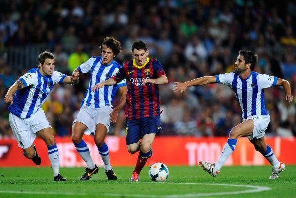 Pero era tiempo de fútbol y el tan criticado equipo 'culé'...
