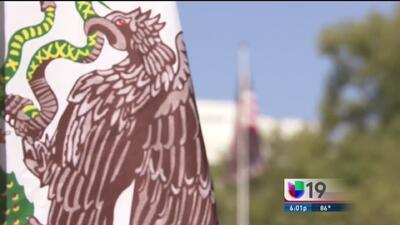 Fiesta mexicana en el capitolio