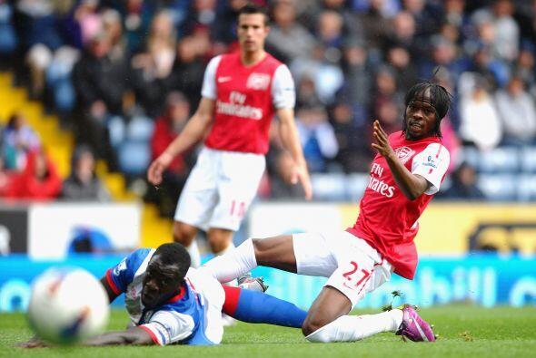 Arsenal visitó al Blackburn Rovers en busca de un triunfo.