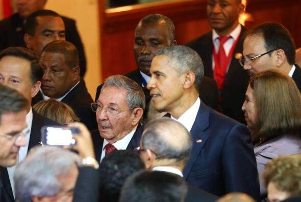 El evento propicia un histórico encuentro entre Obama y Castro, ya que C...