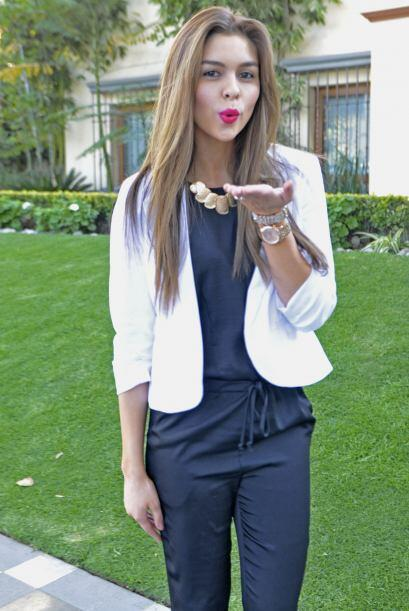 Los labios de la mexicana Carolina Urrea son de los más carnosos y segur...