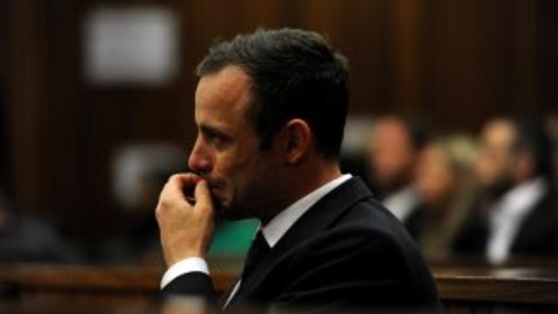 Pistorius no parece estar siendo convincente en su defensa.